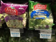 Lettuce with Nutrition North tag