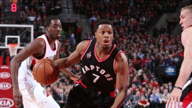 Kyle Lowry led the Raptors in points with 30 and Toronto beat Portland 110-103.