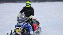 Cain's Quest 2016 snowmobiler Mark Simms