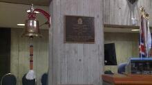 HMCS St. John's Ship's Bell
