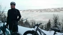 Gary Moore fat bike corner brook