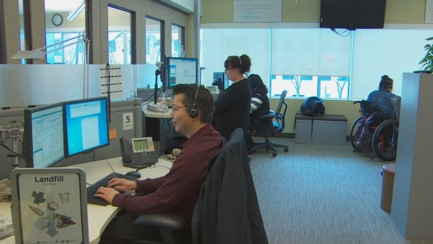 When 311 launched in 2009, there were 12 call takers. The service now employs 100 people who answer up to 130 calls per shift ranging from yes/no answers to recording complaints about how the city is run.