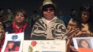 Missing, murdered indigenous women's families grieve at special ceremony