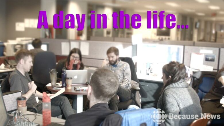 A day in the life Because News