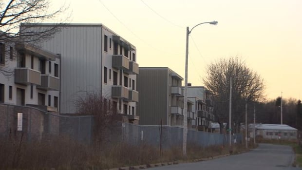 Shannon Park's 40 buildings will come down over the next year.