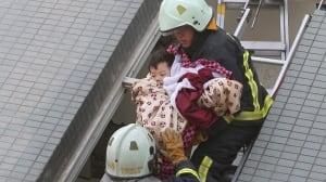 APTOPIX Taiwan Earthquake