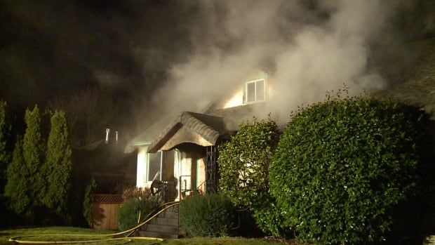 Vancouver hoarder house fire