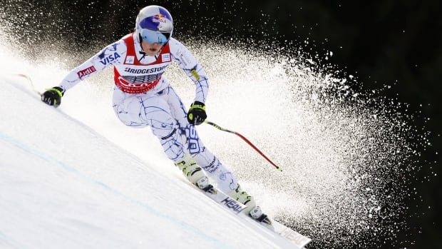 Lindsey Vonn skied to a gold medal in the women's World Cup downhill in Garmisch Partenkirchen, Germany, on Saturday, Feb. 6, 2016.