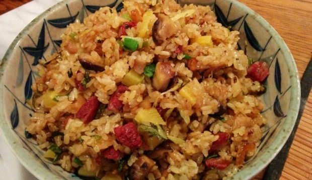 Savoury sticky rice