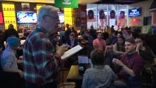Garbonzo's meet up, Premier Greg Selinger