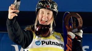 Justine Dufour-Lapointe wins World Cup dual moguls in Deer Valley