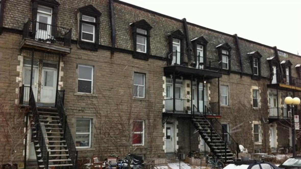 Century Old Apartment Block In Ville Marie Spared