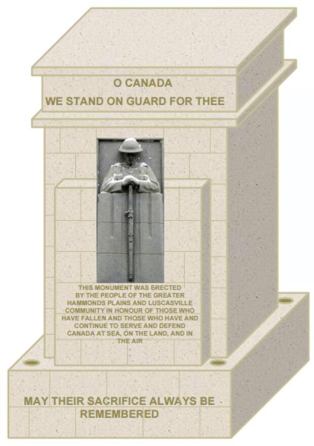 Hammonds Plains cenotaph