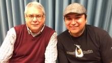 Doug Cuthand and Randy Morin