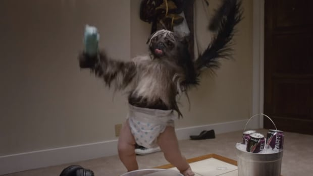 Mountain Dew's Puppymonkeybaby was trending on Twitter within minutes of the commercial airing. While reaction to the ad was mixed, it was undoubtedly one of 2016's most buzzworthy Super Bowl spots.