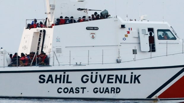 Turkey's coast guard said 27 migrants died after their boat capsized in the Bay of Edremit, while four people were rescued.