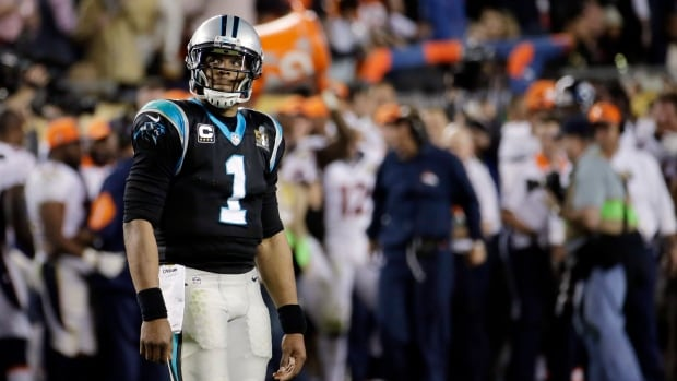Carolina Panthers quarterback Cam Newton (1) walked out of his post-game interview, but the team is already talking about their plans for a return to next year's Super Bowl.