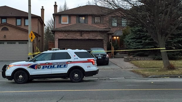 Police say there were 'obvious signs of trauma to the body,' of a 77-year-old man found dead inside this house in Richmond Hill on Sunday.