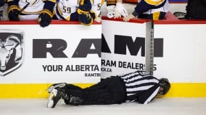Dennis Wideman suspension appeal for hitting linesman set for Wednesday