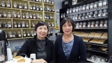 Marianne and Helena Lee, tea and bloom owners