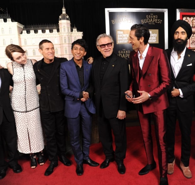 """NY Premiere of """"The Grand Budapest Hotel"""""""
