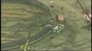 CNRL collapse aerial