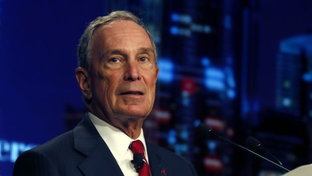Former New York City mayor Michael Bloomberg tells the Financial Times he has not ruled out a run for the presidency.