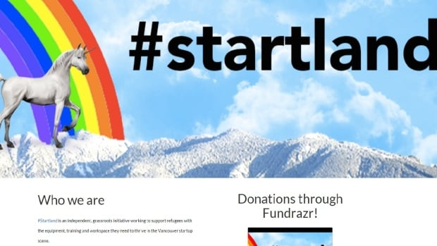 #Startland hopes to help refugees get training and jobs in Vancouver's startup scene.