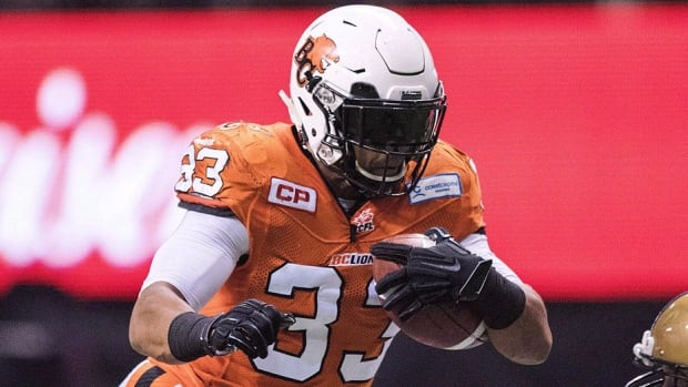 CFL free agency begins at noon ET Tuesday with over 140 players slated  to hit the open market, including Lions running back Andrew Harris, pictured here. The five-foot-11, 202-pounder has twice run for over 1,000 yards, including last season. Harris is expected to move on from B.C. and there's talk that the Blue Bombers could pursue the Winnipeg native.