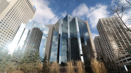 Calgary downtown towers