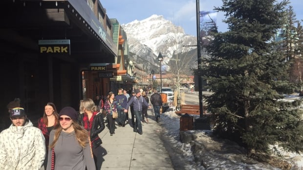 Banff saw huge demand for development and building permits last year, a sign of strong growth in tourism according to officials.