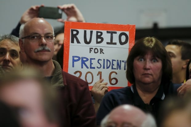 US presidential-ELECTION Marco RUBIO Bedford NH supporters Feb 7 2016