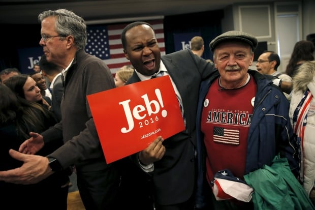 US presidential-ELECTION Jeb BUSH supporters NH Feb 3 2016