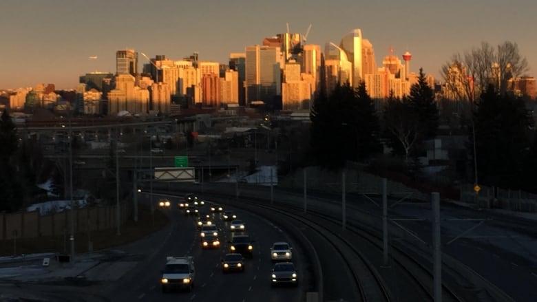 Calgary Skyline Sunset