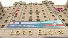 The Lord Elgin hotel in Ottawa