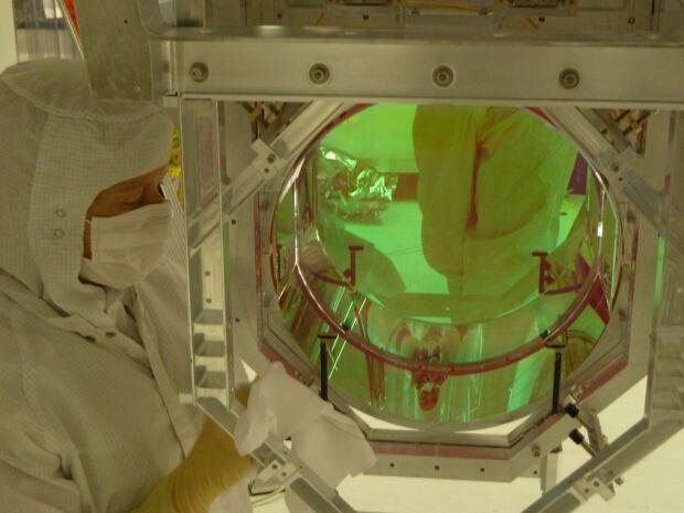 LIGO test mass