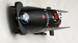 Bobsleigh world championships: Kaillie Humphries in women's race