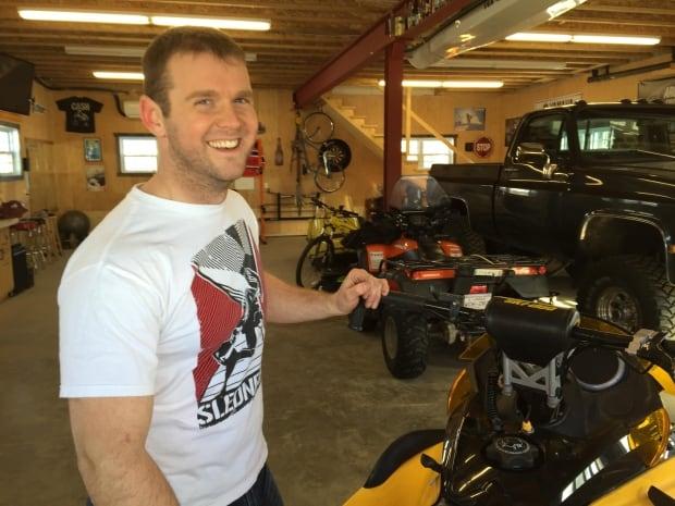 amputee snowmobiler Troy Burt