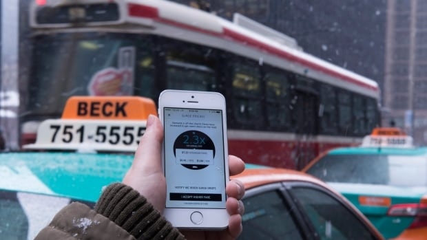 Beck Taxi president Gail Beck-Souter has asked her drivers not to take part in any disruptions during this weekend's NBA All-Star Game in Toronto. (Graeme Roy/Canadian Press)
