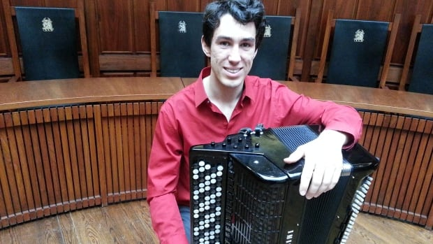 Michael Bridge is an acclaimed accordionist who is also doing his master's degree in accordion.