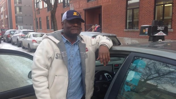 Montreal taxi driver Fred Previlon will take the day off on Wednesday to take part in the city-wide protest.
