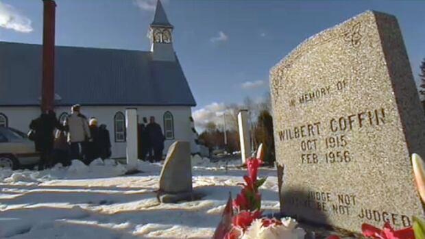 Wilbert Coffin tombstone