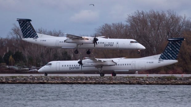 Porter, which was founded in 2006, flies to 24 year-round and regional destinations in Canada and the United States, using Bombardier Q400 turboprop aircraft.