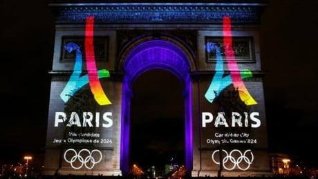 Paris reveals logo for 2024 Olympics bid