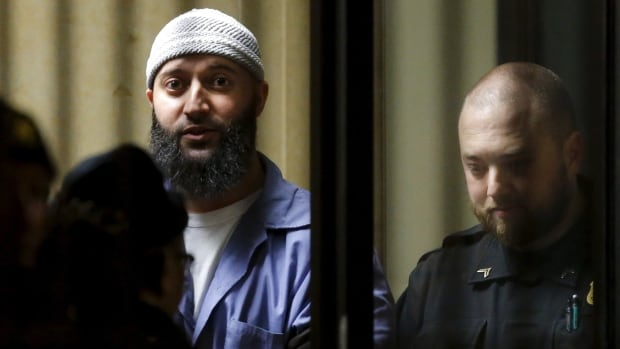 Convicted murderer Adnan Syed leaves the Baltimore City Circuit Courthouse in Baltimore, on Feb. 5. A hearing to decide whether Syed deserves a retrial wrapped up Tuesday with closing arguments.