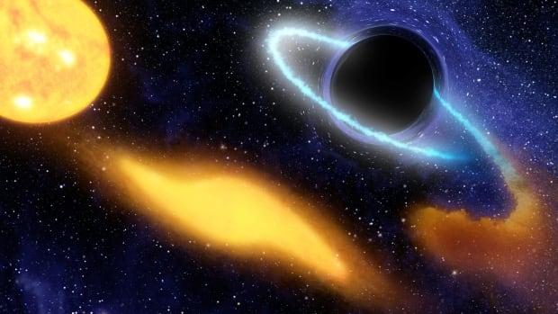 SPACE BLACKHOLE star