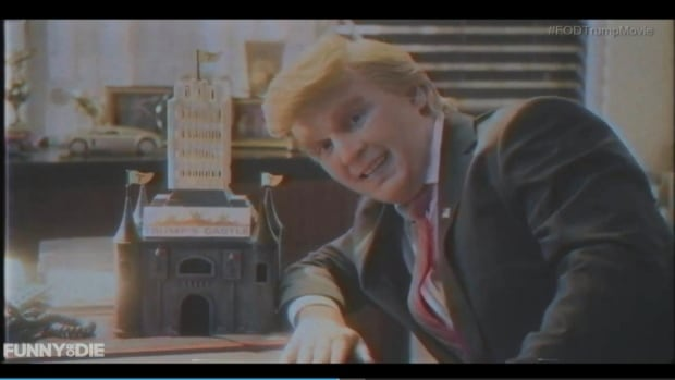 The satirical website Funny or Die has released a mock biopic about Republican presidential hopeful Donald Trump. Called Funny or Die Presents Donald Trump's The Art of the Deal: The Movie, it stars Johnny Depp in the title role.