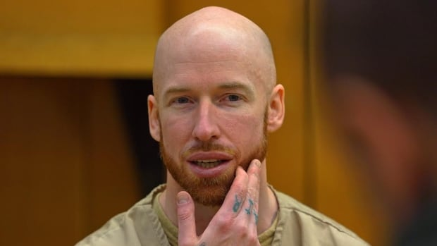 Notorious con-artist and imposter, Jeremy Wilson, shown during an interview at Rikers Island jail complex.