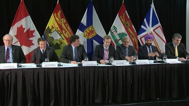 Atlantic premiers met Wednesday with several federal cabinet ministers in Fredericton.