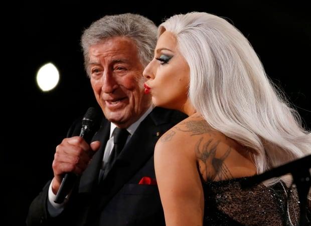 GRAMMYS Lady Gaga Tony Bennett